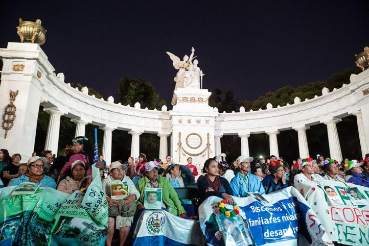 Madres de migrantes desaparecidos recorren México