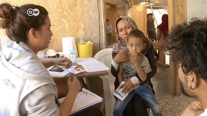 Grecia: refugiados - situación trágica en las islas griegas