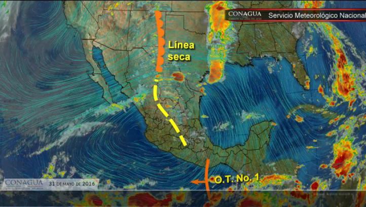 Pronóstico del tiempo para el 31 de mayo.