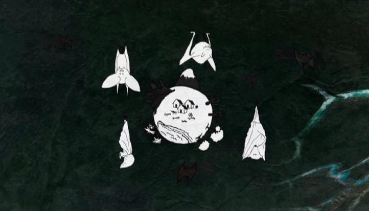 El vuelo de los murciélagos