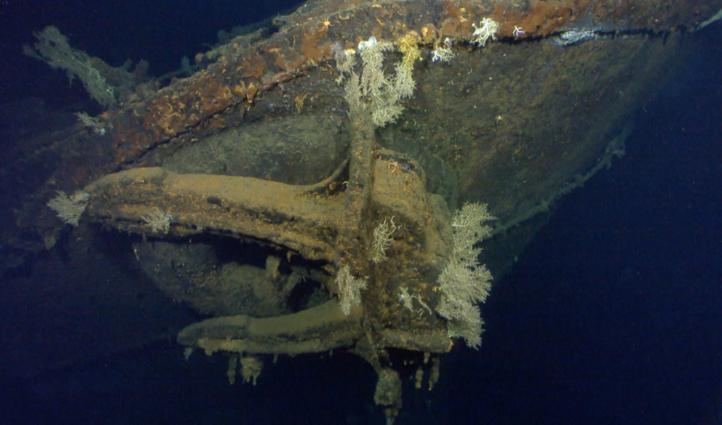 Anuncian el hallazgo de un barco japonés hundido en II Guerra Mundial