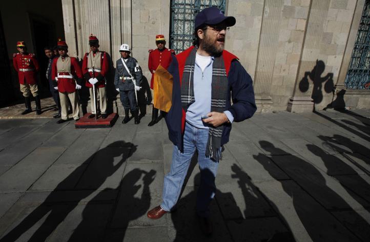 Empresario estadunidense se fuga de Bolivia