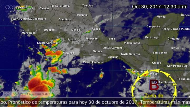 Pronóstico del tiempo para el 30 de octubre