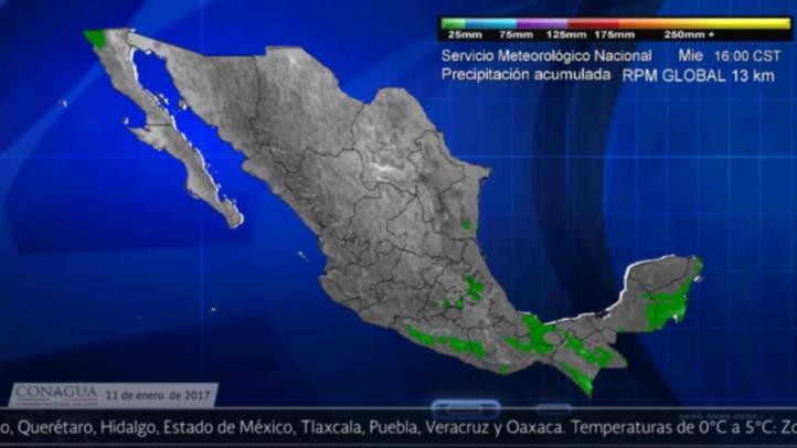 Pronóstico del tiempo para el 11 de enero