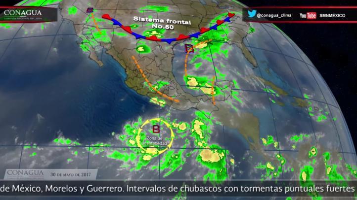 Pronóstico del tiempo para el 30 de mayo