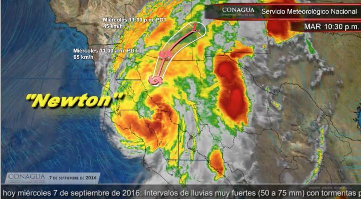 Pronóstico del tiempo para el 7 de septiembre