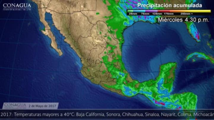 Pronóstico del tiempo para el 2 de mayo