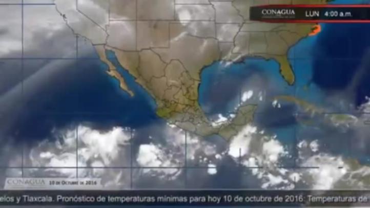 Pronóstico del tiempo del 10 de octubre de 2016