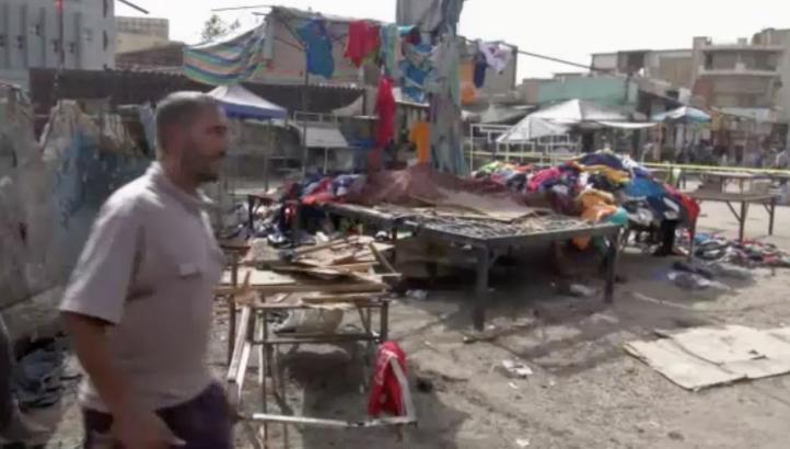 Decenas de personas mueren en ataques suicidas en Bagdad