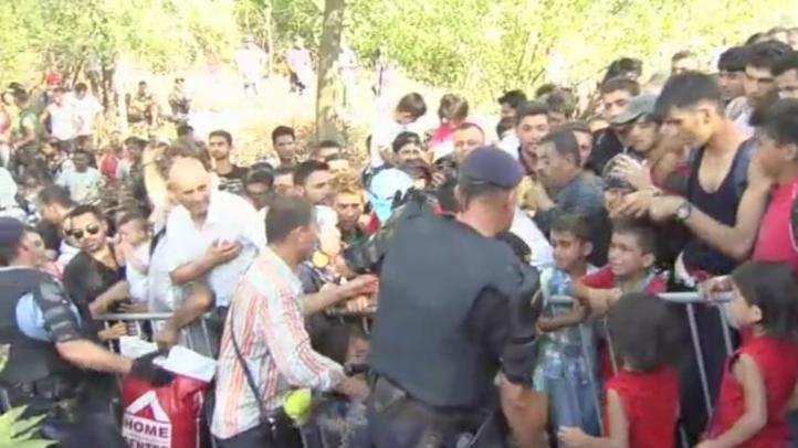 Croacia se convierte en punto de ingreso  para migrantes