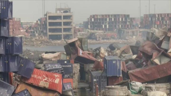Se incrementa el número de muertos por las explosiones de Tianjin