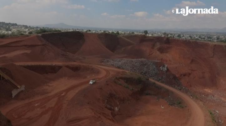 Pobladores denuncian graves daños por extracción de material para el NAICM