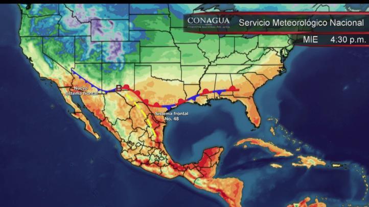 Pronóstico del tiempo para el 17 de marzo