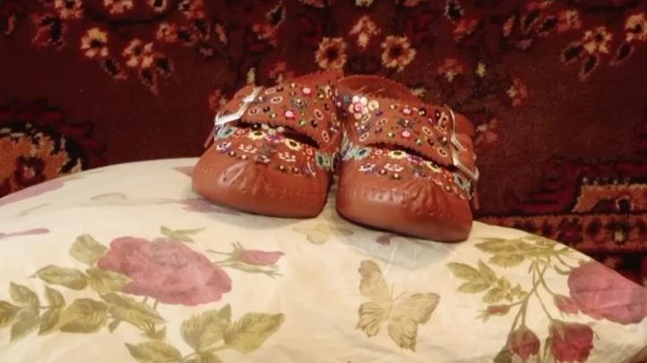 Zapatos tradicionales hechos a mano, arte en declive en Ucrania