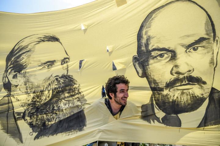Miles de personas marchan en todo el mundo para reclamar sus derechos laborales