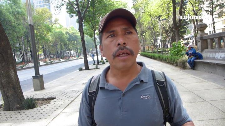 """""""Vamos a seguir en pie de lucha"""": padre de joven que se prendió fuego por libertad de líder del Frente Flores Magón"""