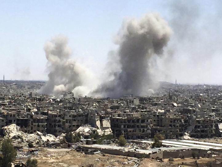Ejército sirio ataca túneles del Estado Islámico en Damasco