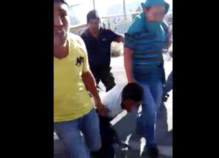 Policías disparan a manifestantes en Ixmiquilpan