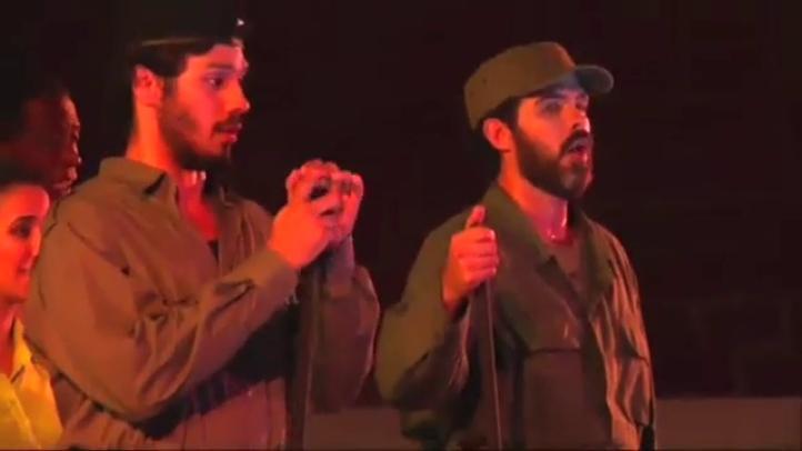 Estrenan ópera sobre Fidel Castro en La Habana