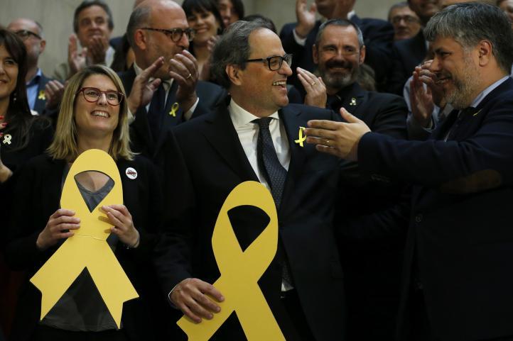 Eligen a Quim Torra presidente de la Generalitat