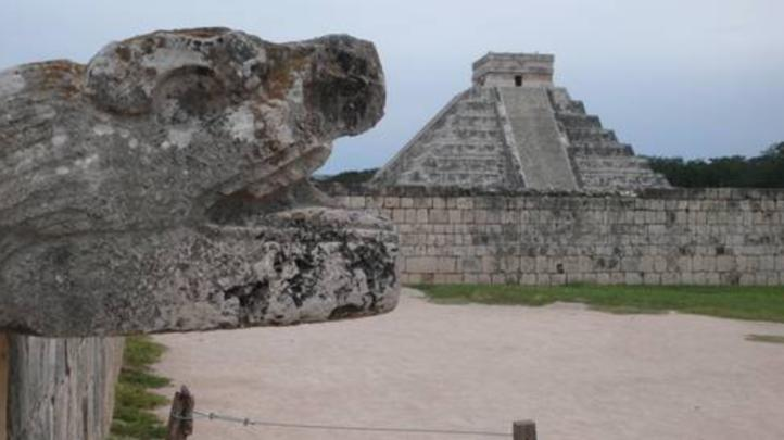 Confirman hallazgo de subestructura en El Castillo de Chichén Itzá