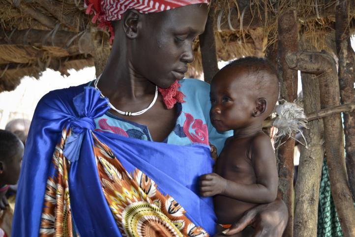 Sudán del Sur abrumada por una hambruna otra vez