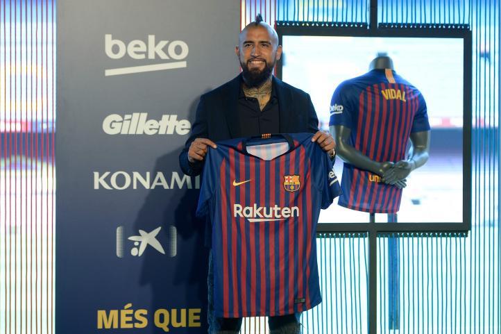 """""""El mejor equipo del mundo"""": Vidal"""