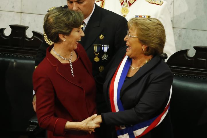 Michelle Bachelet asume mandato de Chile por segunda vez