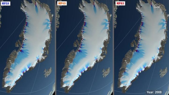 Elevan un 80% la subida del mar a 200 años por el deshielo de Groenlandia