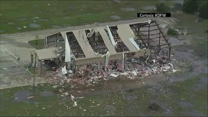 Texas uno de los estados más afectados por los tornados EU