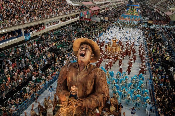 Portela, ganadora de carnaval en Río después de 33 años
