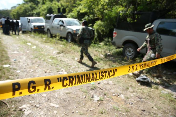 Hallan más restos humanos en Cocula
