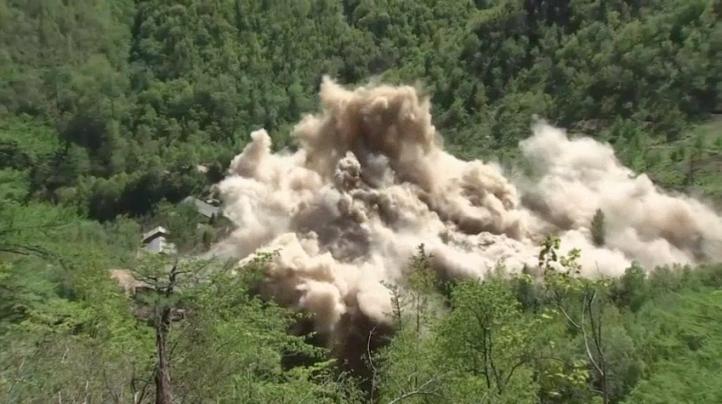 Corea del Norte destruye sitio de ensayos nucleares