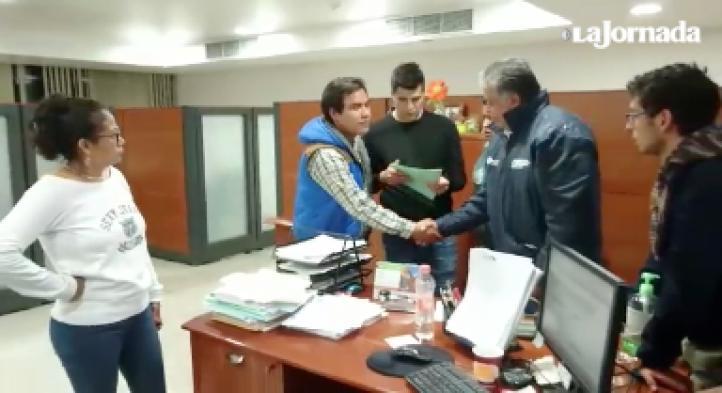 Paristas entregan instalaciones de la UAM unidad Azcapotzalco