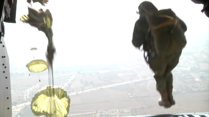 Los paracaidistas se han convertido en uno de los cuerpos especiales del Ejército Mexicano