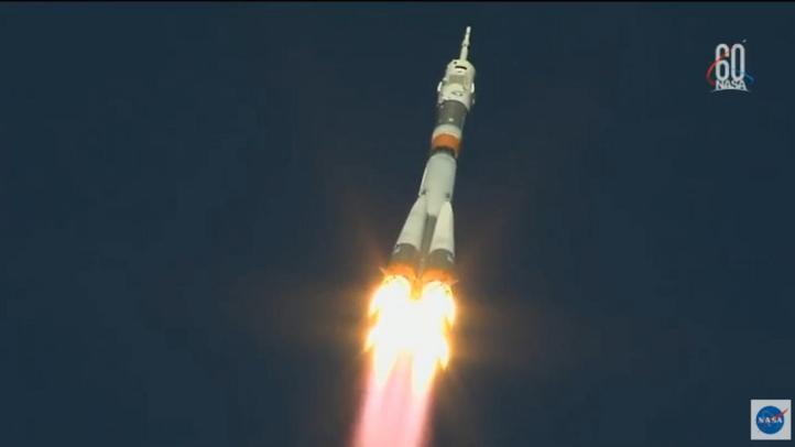 Aterrizaje forzoso de astronautas que iban a la EEI