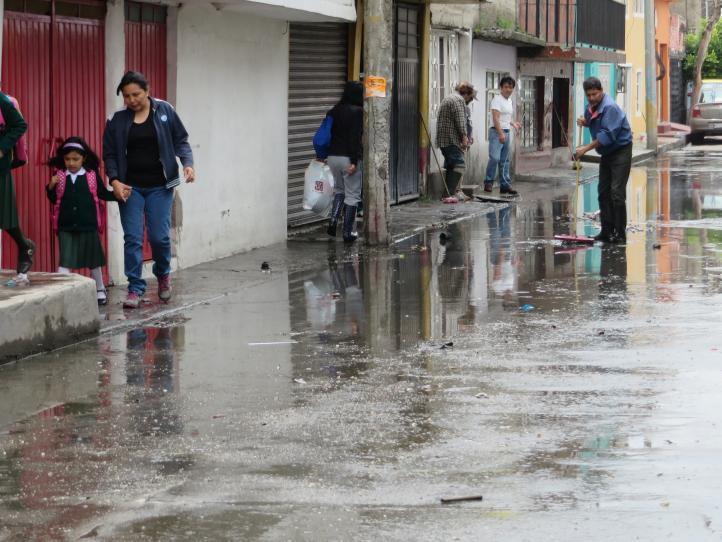 Inundaciones en Ecatepec por lluvias