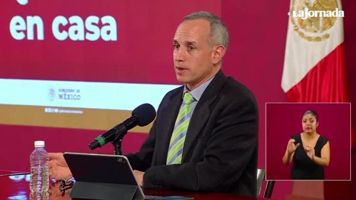 López-Gatell aclara que la Jornada Nacional de Sana Distancia se termina en 17 días.
