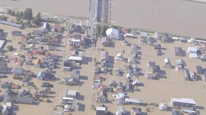 Japón busca desaparecidos tras tifón que mató a decenas