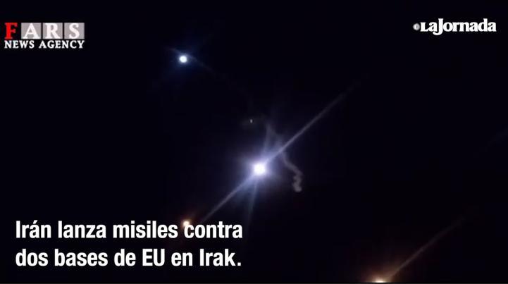 Irán lanza misiles contra dos bases de EU en Irak
