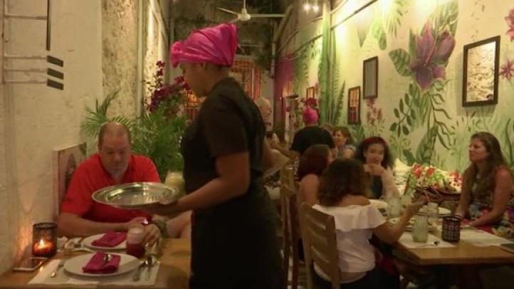 Presas en Colombia inauguran restaurante gourmet