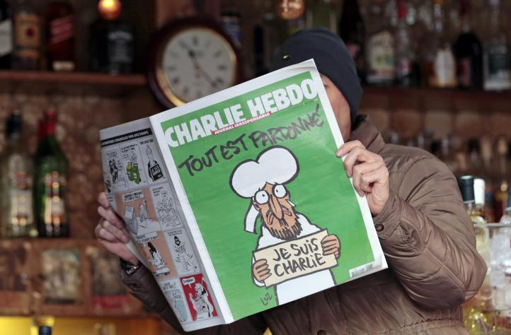'Charlie Hebdo' con Mahoma en portada se agota en minutos en Francia