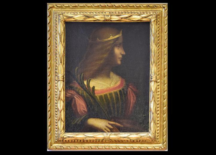 Incautan en Suiza el 'Retrato de Isabel de Este' atribuido a Da Vinci