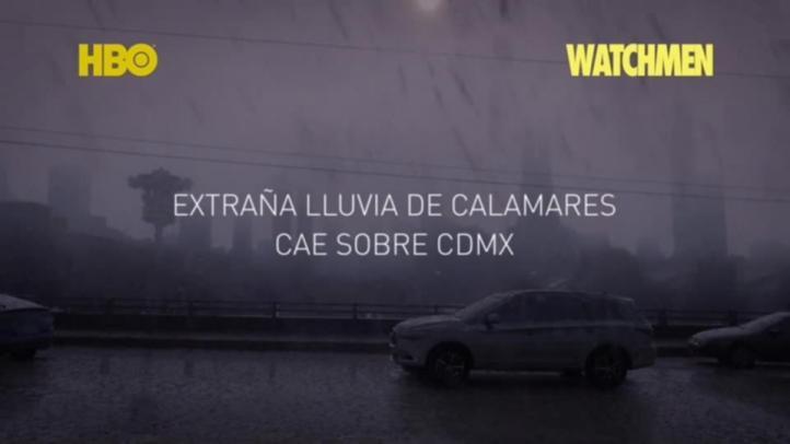 Lluvia de Calamares en CDMX