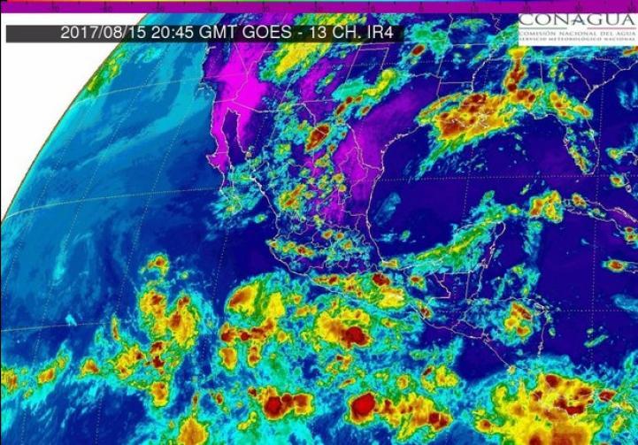 Pronóstico del tiempo para el 16 de agosto