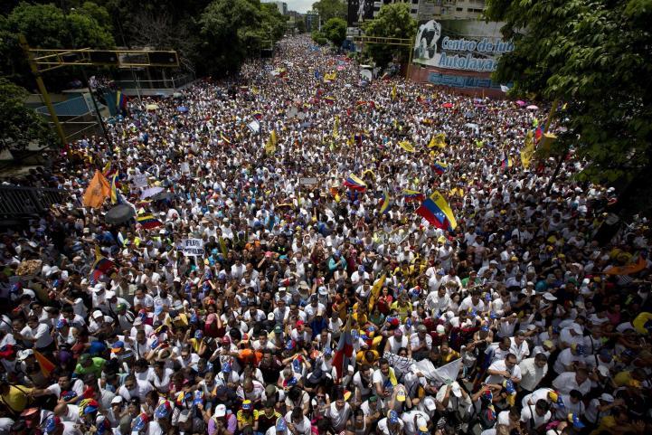 Nueva etapa de movilizaciones en Venezuela