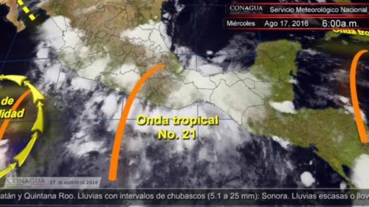 Pronóstico del tiempo para el 17 de agosto