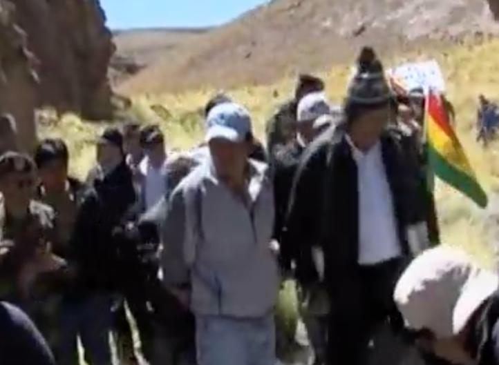 Un cuerpo de agua, motivo de disputa entre Chile y Bolivia
