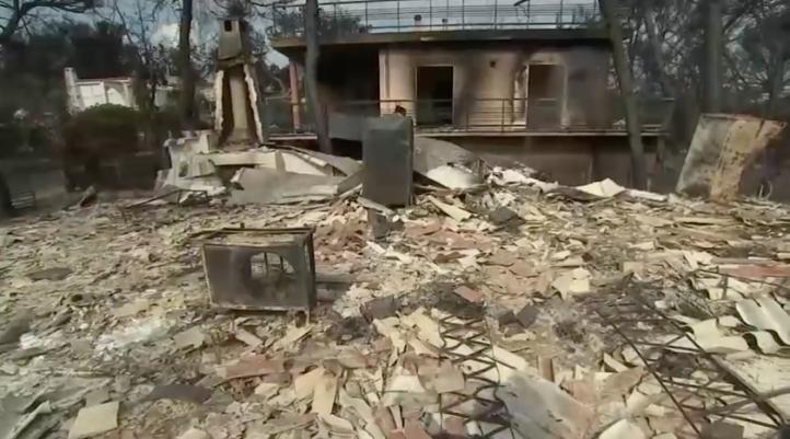Años de reconstrucción tras los incendios de Grecia