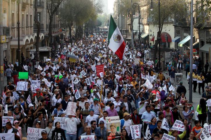 Vuelven a las calles, contra el gasolinazo, en la CDMX